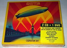 Led Zeppelin - Celebration Day (2012) 2 CD + DVD NEW digipak (CD Size)