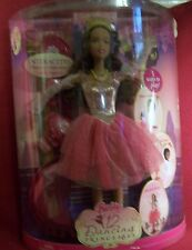 Mattel Genevieve Barbie Doll In The 12 Dancing Princesses AA DVD NRFB MIB