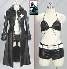 VOCALOID-Miku Black Rock Shooter Cosplay Costume Custom