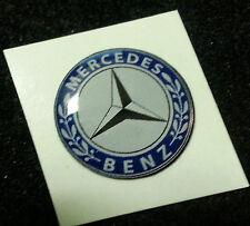1 Adesivo Resinato Sticker 3D MERCEDES 60 mm