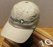 ADVENTURE LIFE SOUTH & CENTRAL AMERICA BEIGE STRAP ADJUSTABLE HAT VGC