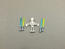 LEGO Star Wars General Grievous minifigure w/ 4 Lightsabers minifig