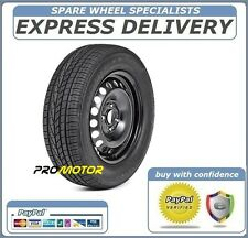 "VW UP!, SKODA CITYGO, SEAT Mii  FULL SIZE 14"" STEEL SPARE WHEEL TYRE 165/70R14"
