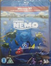 FINDING NEMO 3D+2D Blu-ray NEW(2-Disc Set,2015) Region Free Brand New!