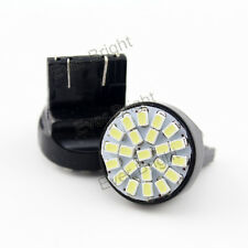 10 PCS T20 7444NA 7443 1206 22SMD 22 Leds Turn Signal Light Backup Led Bulbs 12V