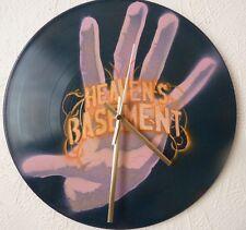 HEAVENS BASEMENT wall clock.36 CRAZY FISTS,KORN,SLASH.AC/DC.SEX PISTOLS.POP ART
