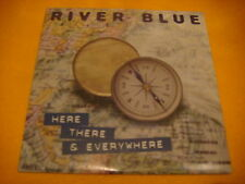 Cardsleeve Single CD RIVER BLUE Here There & Everywhere 2TR 1996 europop