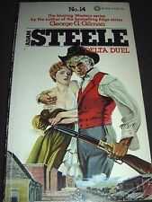 Adam Steele Delta Duel No. 14 by Geroge C. Gilman 1st Print Aug 1979 Paperback