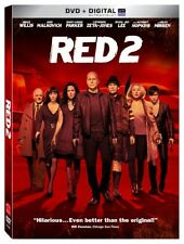 Red 2, DVD, 2013, New, Free Shipping