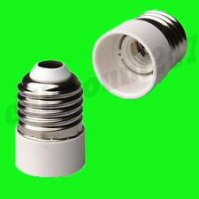HIGH QUALITY ES E27 To E14 Light Bulb Adaptor Socket Converter Holder UK SELLER