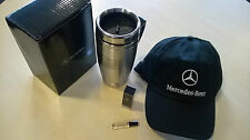 GENUINE MERCEDES BASEBALL CAP,MUG AND FREE PERFUME