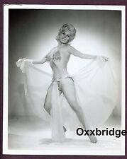 Sexy Wholesome Girl Next Door Burlesque Dancer 1960 ORIGINAL 8x10 PHOTO C093