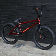 "2017 SUNDAY BMX BIKE SCOUT 20"" TRANS RED BICYCLE FIT CULT KINK HARO SUBROSA"