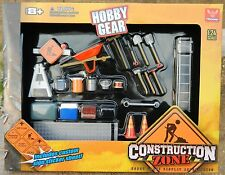 Phoenix Toys 1:24 *CONSTRUCTION ZONE* 23pc TOOLS & ACCESSORY SET *NIP*