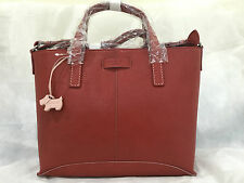 Radley Anglesey Red Leather Multiway Grab Bag BNW RRP £189