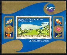 Hungary 1975 Ocean Expo/Whale/Fish/Nature 1v m/s n29624