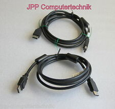 2 Stück LOT HP Display Port Cable Displayport Kabel 2m Monitor Verbindungskabel