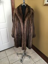 J. MENDEL PARIS BARGUZIN RUSSIAN SABLE FUR COAT JACKET STROLLER XL-2XL (16-18)