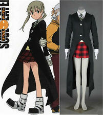 Hot!! Soul Eater MAKA ALBARN Uniform Custom Made Cosplay Costume Free shipping#8