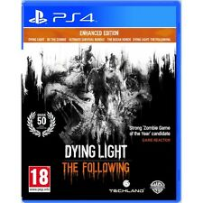 Dying light the following enhanced edition PS4 game brand new