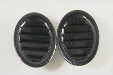 JDM HONDA CIVIC EK9 EK4 EK3 OEM DASH BOARD AIR VENTS IN CARBON LOOK FINISH CTR