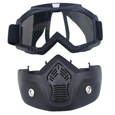 Anti-UV Dust Motorcycle Motocross ATV Dirt Bike Off Road Racing Goggles Glasses