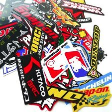 50 Mixed Random Sticker Decal Car ATV Bike Racing Helmet Motorcross Dirt BMX
