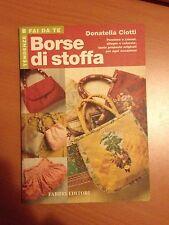Borse di stoffa - Donatella CIotti - Fabbri 3501