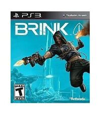 NEW PS3 BRINK ARK REVOLUTION SHOOTER VIDEO GAME GUNS REBELS COPS PLAYSTATION 3