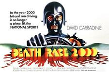 DEATH RACE 2000 - LARGE FRIDGE MAGNET  -  CARRADINE COOL!