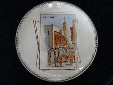 1889 Commemorative Plate Exposition Universelle Paris - Rue de Caire