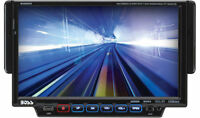 "BOSS BV8963 SINGLE DIN 7"" TOUCHSCREEN MONITOR DVD/AM/FM/CD/MP3 RECEIVER STEREO"