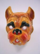 Masque D'animal Bouledogue Chien De Halloween