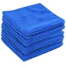 20xBLUE Large Microfibre Cleaning AutoCar Detailing Soft Cloths Wash TowelDuster