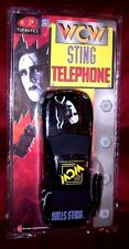 1999 NEW IN ORIGINAL PACKAGE WCW STING TELEPHONE WRESTLING CHAMP COLUMBIA TELCOM