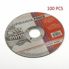 "( 100pcs )  Cut-Off Wheel 4-1/2"" X 1/16"" X 7/8"" (Pirahna Power)"