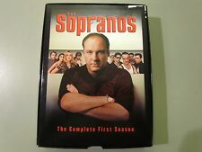 THE SOPRANOS DVD THE COMPLETE FIRST SEASON HBO COMPLETE