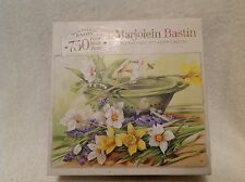"MB Marjolein Bastin 750 Pc ""Nature's Treasure's""  2003  Finished Puzzle 18""x 24"""