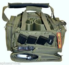 Olive Drab Explorer Tactical Range Ready Bag Gun Pistol Survival Emergency Kit