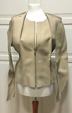 Maison Martin Margiela for H & M veste en cuir pattern Cut jacket veste EUR 42 us 12