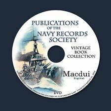 Publications of the Navy Records Society Vintage Collection 58 PDF E-Books 1 DVD
