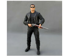 Terminator 2 Judgment Day T-800 Pescadero Escape PVC Action Figures Statue Toy