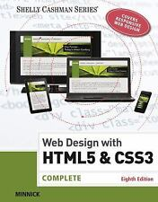 Web Design with HTML & CSS3 by Jessica Minnick.
