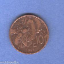 W394 REGNO 1928 10 CENTESIMI APE...........NON COMUNE