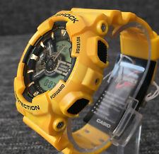 CASIO G SHOCK GA-110CM-9AER YELLOW CAMOUFLAGE XLARGE ANALOG&DIGITAL BRAND NEW