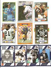 (10) 1989 Auburn University Tigers Alumni Cards NO DUPES! Bo Jackson