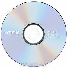 5 pack New TDK 8X Silver Logo 8.5GB Double Dual Layer DVD+R DL [FREE SHIPPING]