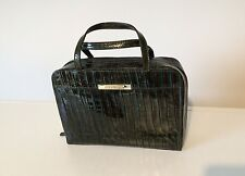 Givenchy stylish dark brown patent leather aligator print mini bag handbag