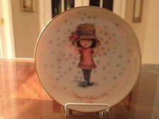 1974 Moppets Happy Mother's Day Limited Edition Collector Plate by Gorham