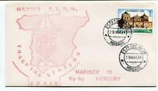 1974 Madrid STDN Tracking Station Spain Mariner 10 Fly-By Mercury Espana SPACE